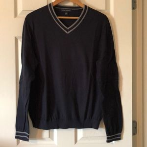 Men's Banana Republic vneck sweater